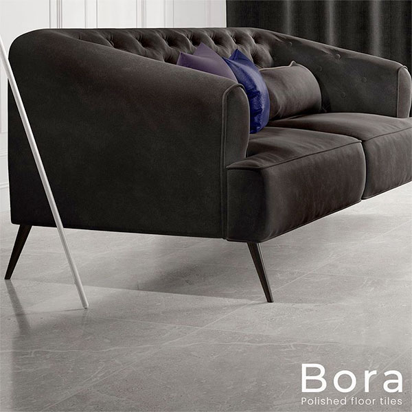 Bora Polished floor tiles