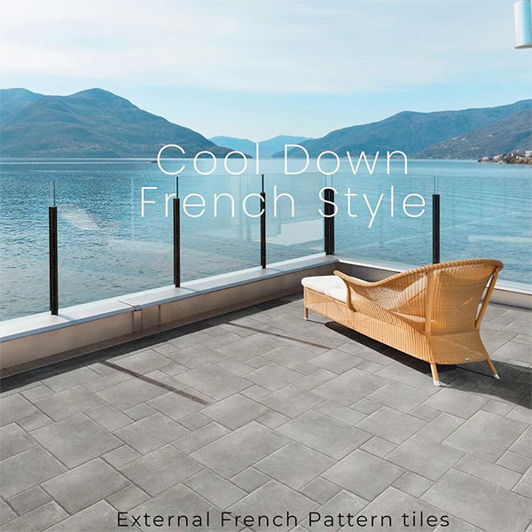 French Pattern External tiles