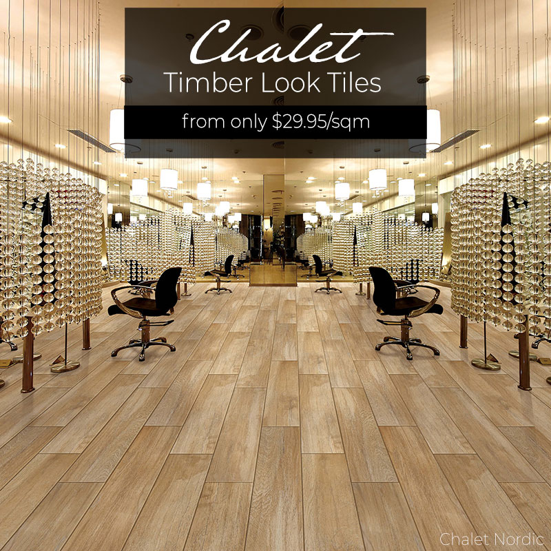 Chalet Timber look tiles