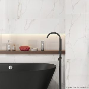 Light Calacatta tiles